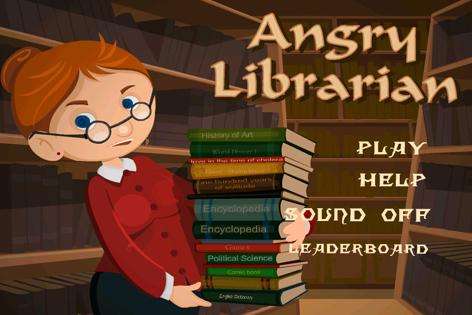 Screenshot Angry Librarian