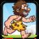 Caveman Run - An endless running and jumping prehistoric adventure (lite)