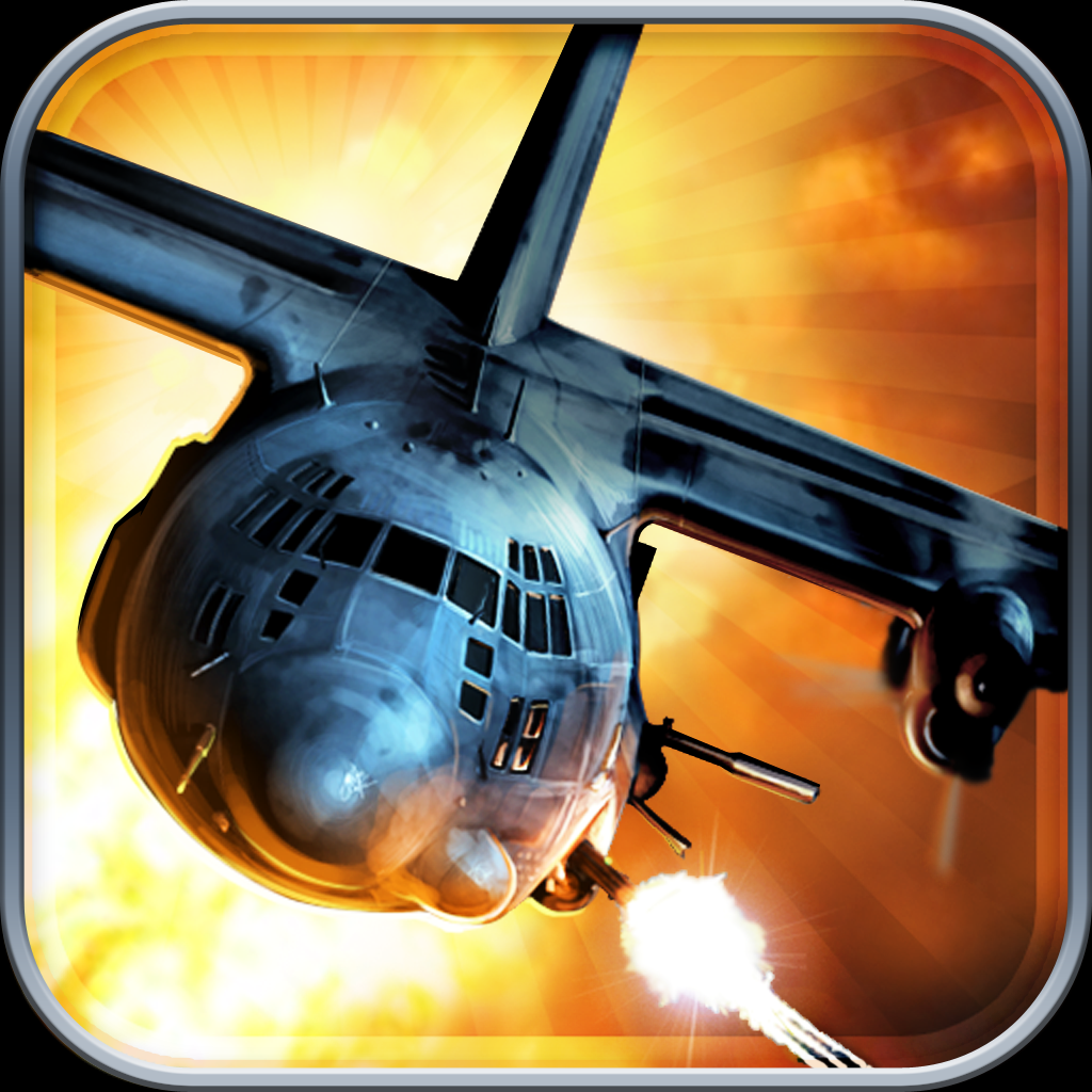 Zombie Gunship: Gun down those blood-sucking, brains-eating zombie-s dead iOS